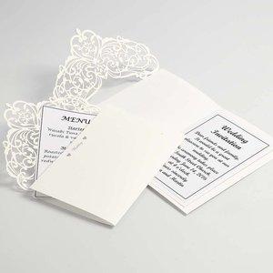 KARTEN und Zubehör / Cards Map & Enveloppen, card formaat 12x17,7 cm, crème, 5 stuks, 230 g