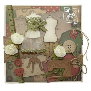 Joy!Crafts / Jeanine´s Art, Hobby Solutions Dies /  Punching and embossing template: buttons