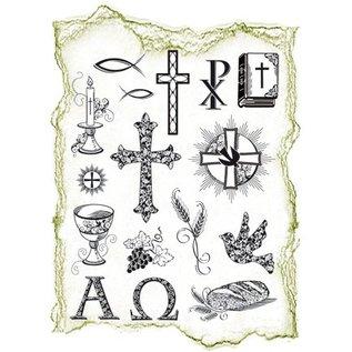VIVA DEKOR (MY PAPERWORLD) Transparent Stempel, Thema: religiöse Anlässe- LETZTE vorrätig!