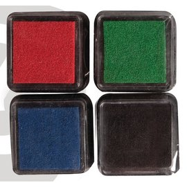 Mini Mascara stempelkussen, set van 4
