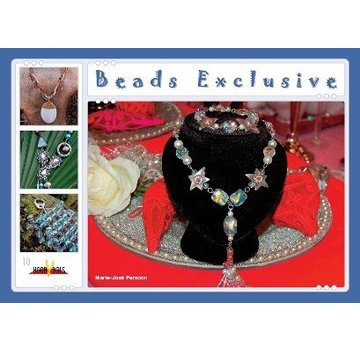 Bücher, Zeitschriften und CD / Magazines Perlenbuch 21 x 15cm, Kralen Exclusive