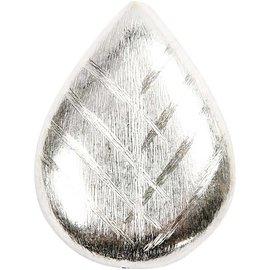Schmuck Gestalten / Jewellery art 1 Großes Blatt, Größe 35x27x13 mm