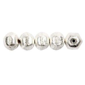 Schmuck Gestalten / Jewellery art Exclusive bead with transversal hole, D: 10 mm, hole size 1 mm