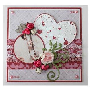 Joy!Crafts / Jeanine´s Art, Hobby Solutions Dies /  Stanz- und Prägeschablonen: Herz mit Herzchen