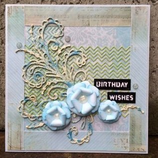 CREATIVE EXPRESSIONS und COUTURE CREATIONS Ponsen en embossing sjabloon: de finishing touch Collection