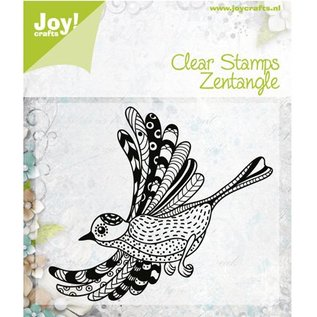 Stempel / Stamp: Transparent timbro trasparente: uccelli Zentangle