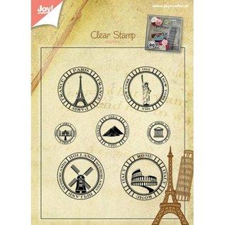 Stempel / Stamp: Transparent Transparant Stempel: vakantielanden