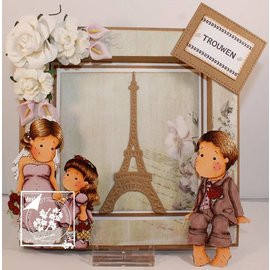 Joy!Crafts / Jeanine´s Art, Hobby Solutions Dies /  Stamping- and pre-masks: Eiffelturm