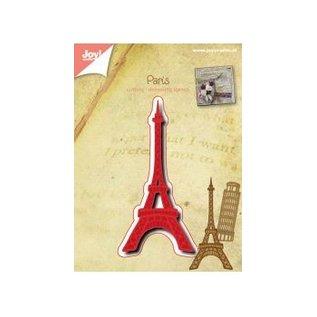 Joy!Crafts / Jeanine´s Art, Hobby Solutions Dies /  Snijden en embossingstencils: Eiffel Tower