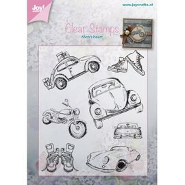Joy!Crafts / Jeanine´s Art, Hobby Solutions Dies /  tampon transparent: Auto - Männersache