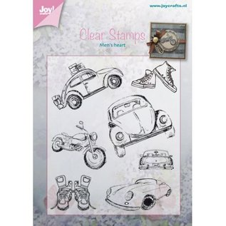 Joy!Crafts / Jeanine´s Art, Hobby Solutions Dies /  Transparant stempel: Auto - Männersache