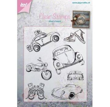 Joy!Crafts / Jeanine´s Art, Hobby Solutions Dies /  Transparent Stempel: Auto - Männersache