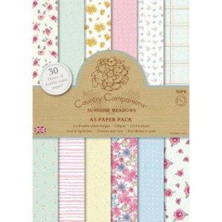 Karten und Scrapbooking Papier, Papier blöcke A5, papier bloc, Spring