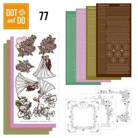 Complete Bastelset for 3 Cards: wedding