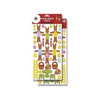 REDDY Feuilles découpées pour les décorations de Pâques