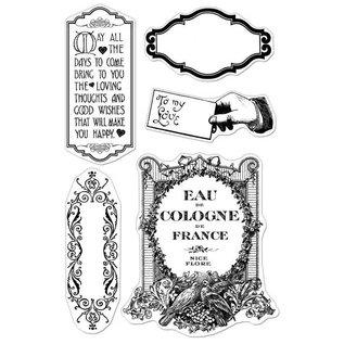 Stempel / Stamp: Transparent Transparante stempels, Make You Happy
