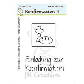 Stempel / Stamp: Transparent Transparent Stempel, Konfirmation Einladung Kelch