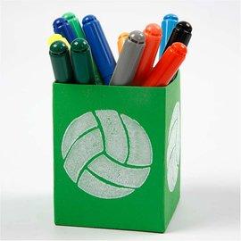 Kinder Bastelsets / Kids Craft Kits Sello de goma espuma: Sport, un total de 12 diseños