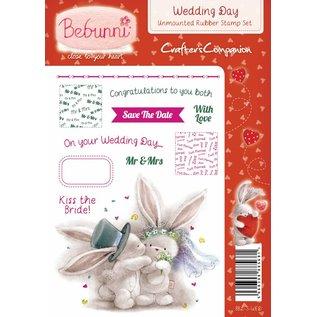 Crafters Company: BeBunni A6 Unmounted stempels reeks, huwelijk