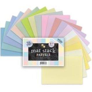 DCWV und Sugar Plum DCWV Designersblock, mat stapel Pastels