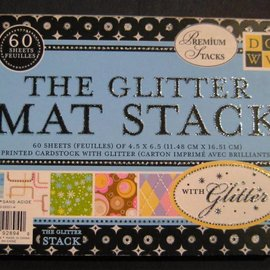 DCWV und Sugar Plum DCWV Designer Block, The Glitter Mat Stack