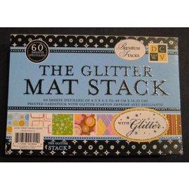 DCWV und Sugar Plum DCWV Designersblock, The Glitter Mat Stack
