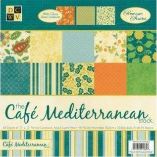DCWV und Sugar Plum DCWV Designer Block, Café Mediterranean Matstack