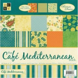 DCWV und Sugar Plum DCWV Designersblock, Café Middellandse Matstack