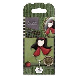 Gorjuss / Santoro NIEUW: Mini rubber stamp No.14 Little Red