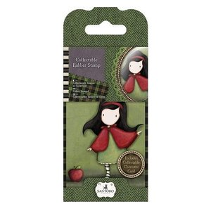 Gorjuss / Santoro NEU: Mini Gummi Stempel Nr.14 Little Red