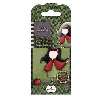 Gorjuss / Santoro NYHED: Mini gummistempel No.14 Little Red