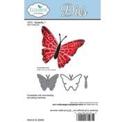Taylored Expressions Stanz- und Prägeschablonen: Schmetterling (mit Technik Video im Kreativ-Blog rechts oben)