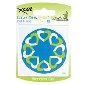 Docrafts / X-Cut Ponsen en embossing stencils, harten