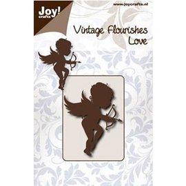 Joy!Crafts / Jeanine´s Art, Hobby Solutions Dies /  Stempelen en embossing stencil, engel