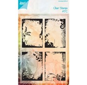 Joy!Crafts / Jeanine´s Art, Hobby Solutions Dies /  Transparent Stempel: ATC