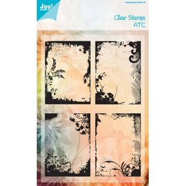Joy!Crafts / Jeanine´s Art, Hobby Solutions Dies /  Sellos transparentes: ATC