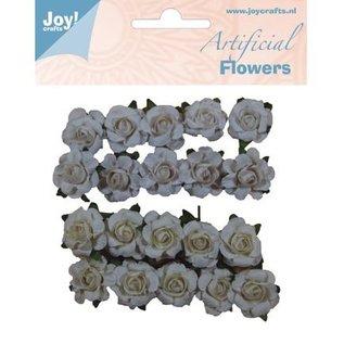 Embellishments / Verzierungen plastic bloemen