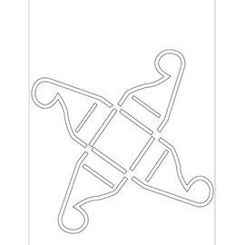 Dekoration Schachtel Gestalten / Boxe ... Poli Besa la plantilla: caja de praliné