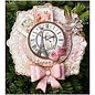 CREATIVE EXPRESSIONS und COUTURE CREATIONS Ponsen en embossing stencil De Italiaanse Collection, 5 Spitzedeckchen rond