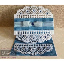Die'sire NEW: punching and stamping template Diesire: doily Lattice