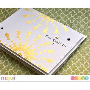 IndigoBlu Speciale lijm voor stempeltechniek met metalen platen en metallic folies
