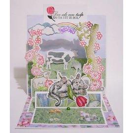 Stempel / Stamp: Transparent Tampons transparents, le printemps arrive