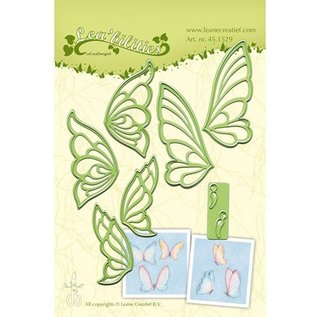 Leane Creatief - Lea'bilities und By Lene Stanz- und Prägeschablone, Schmetterlinge