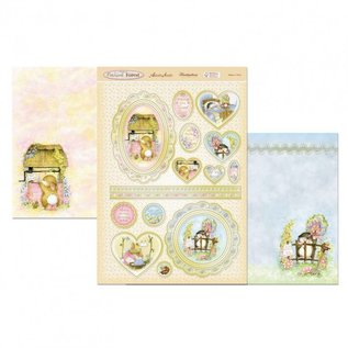Hunkydory Luxus Sets Hunkydory, Luxe Bastelset: Patchwork Forest