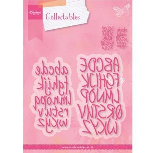 Marianne Design Cutting en embossing stencils, Charming alfabet