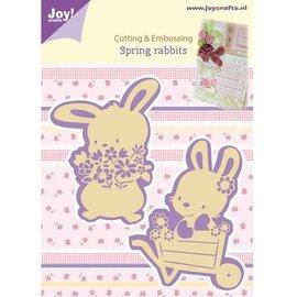 Joy!Crafts / Jeanine´s Art, Hobby Solutions Dies /  Stanz- und Prägeschablonen, 2 Frühling Häschen