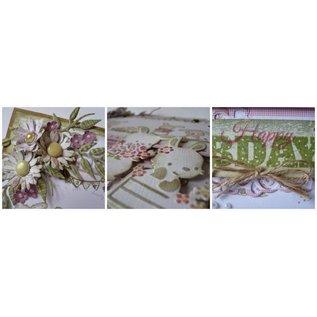 Joy!Crafts / Jeanine´s Art, Hobby Solutions Dies /  Cutting en embossing stencils, 2 Spring Bunny