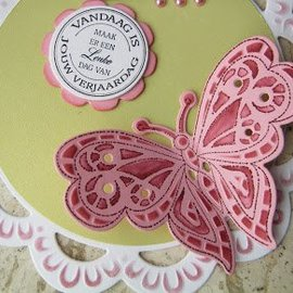 Marianne Design Corte y estampado en relieve plantillas + motivo sello