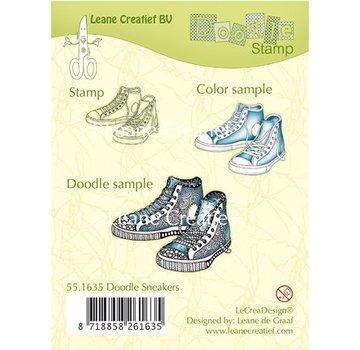 Stempel / Stamp: Transparent I timbri trasparenti, Sneakers