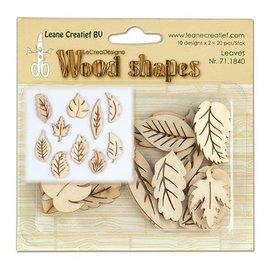 Objekten zum Dekorieren / objects for decorating Láminas de madera, 20 piezas